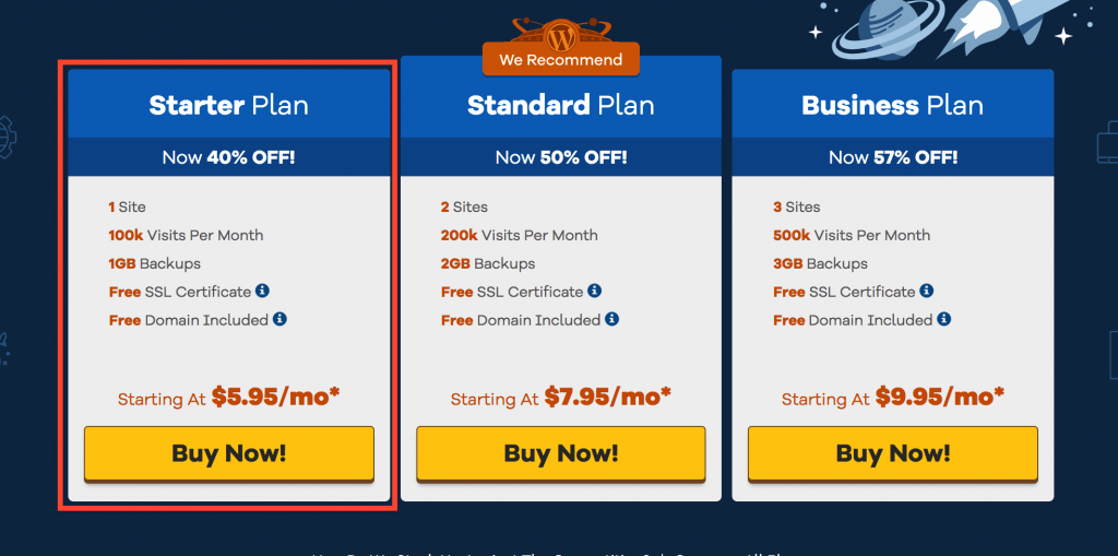 Website Hosting Hostgator Plans
