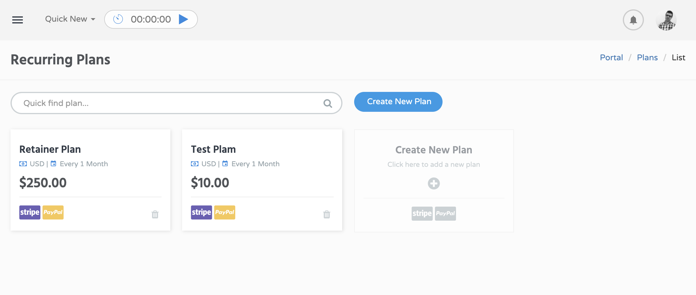 WordPress Portal Plans