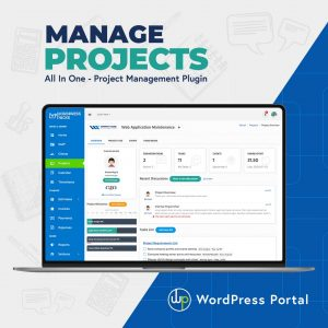 WordPress Portal Dashboard